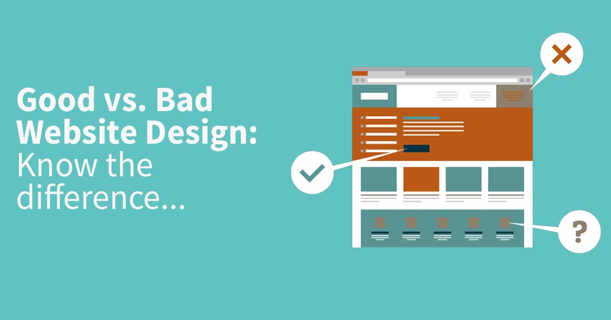 Good And Bad Web Designers The Digital Agenda