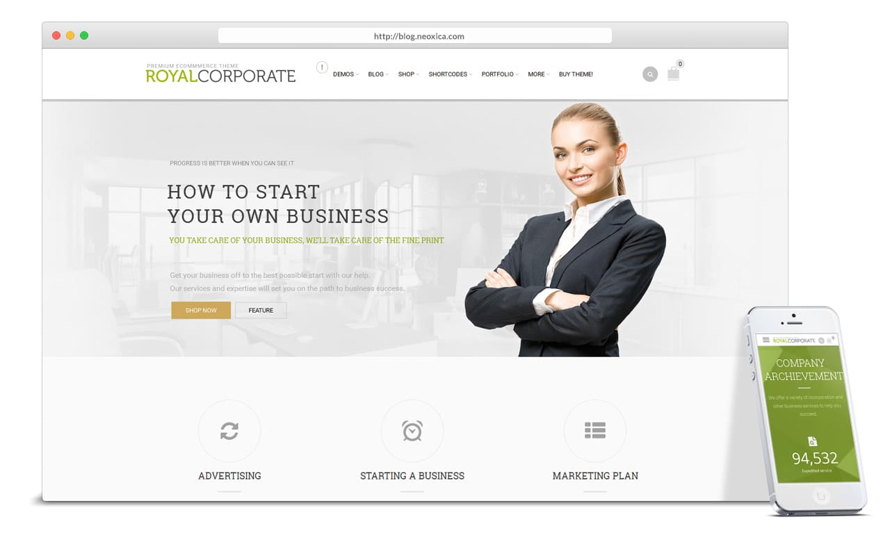 Corporate Website Design Tampa