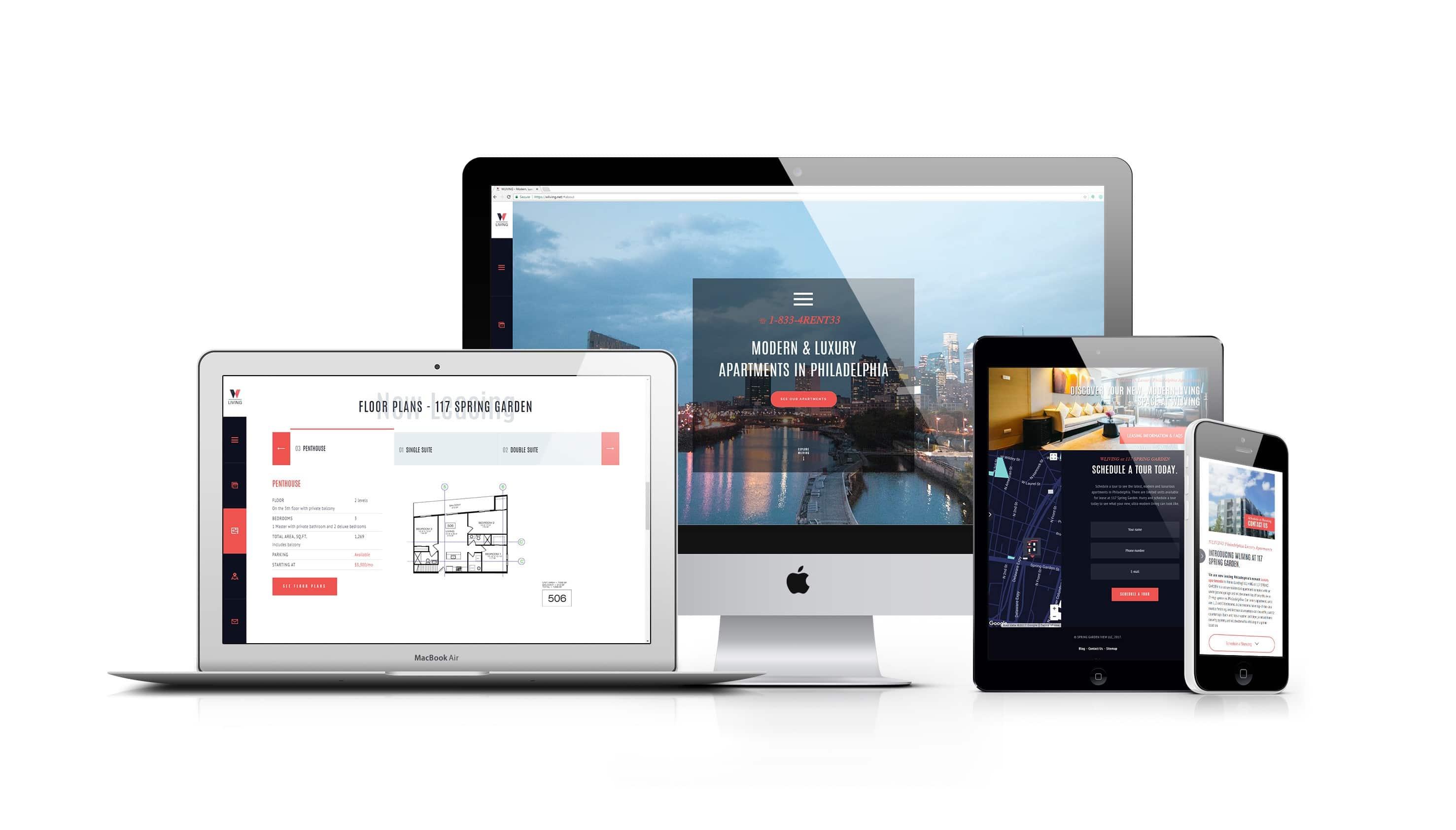 Real Estate Website Design Tampa